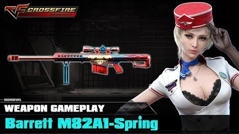 Crossfire Legends - Barrett M82A1-Spring