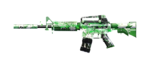 M4A1-S AZURE JASMINE