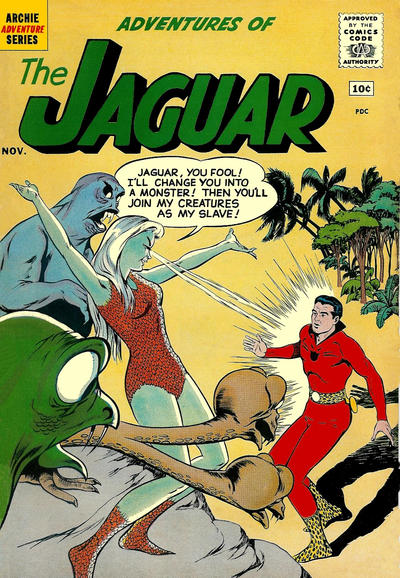 Adventures of the Jaguar Vol 1 3