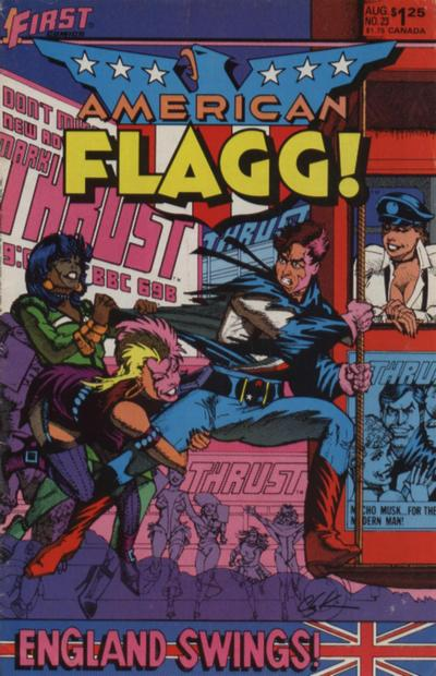 American Flagg Vol 1 23