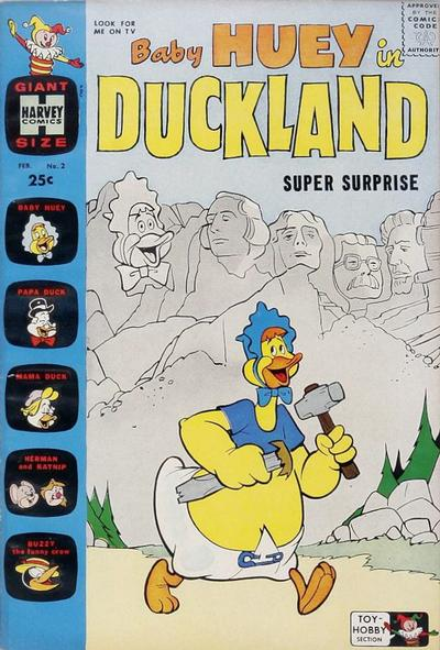 Baby Huey in Duckland Vol 1 2