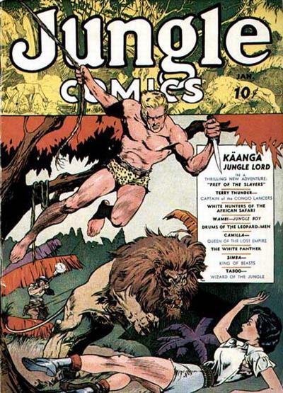Jungle Comics Vol 1