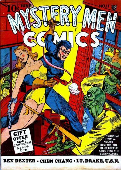 Mystery Men Comics Vol 1 11