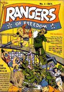 Rangers of Freedom Vol 1 1