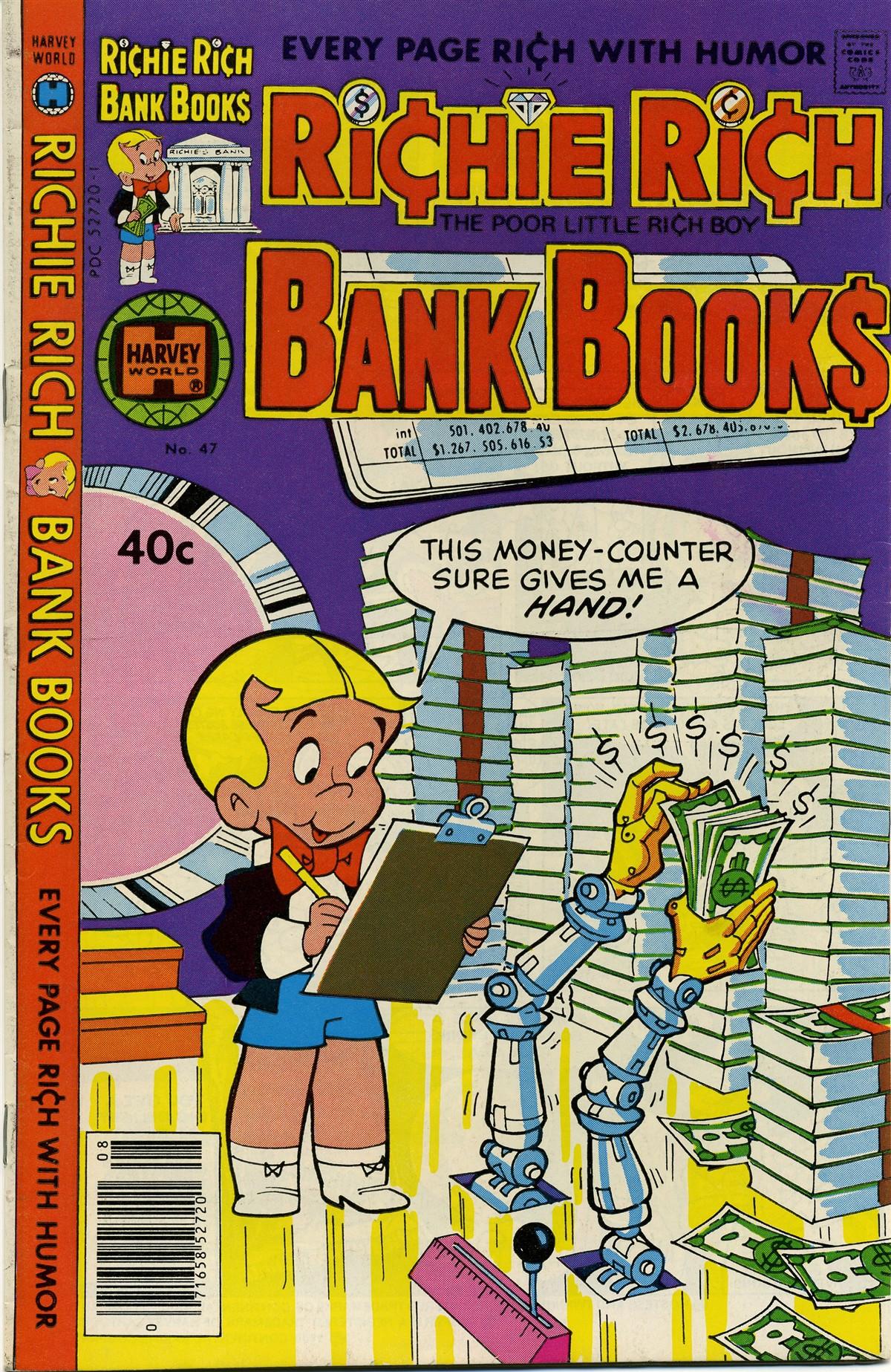 Richie Rich Bank Books Vol 1 47