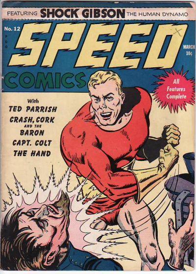 Speed Comics Vol 1 12
