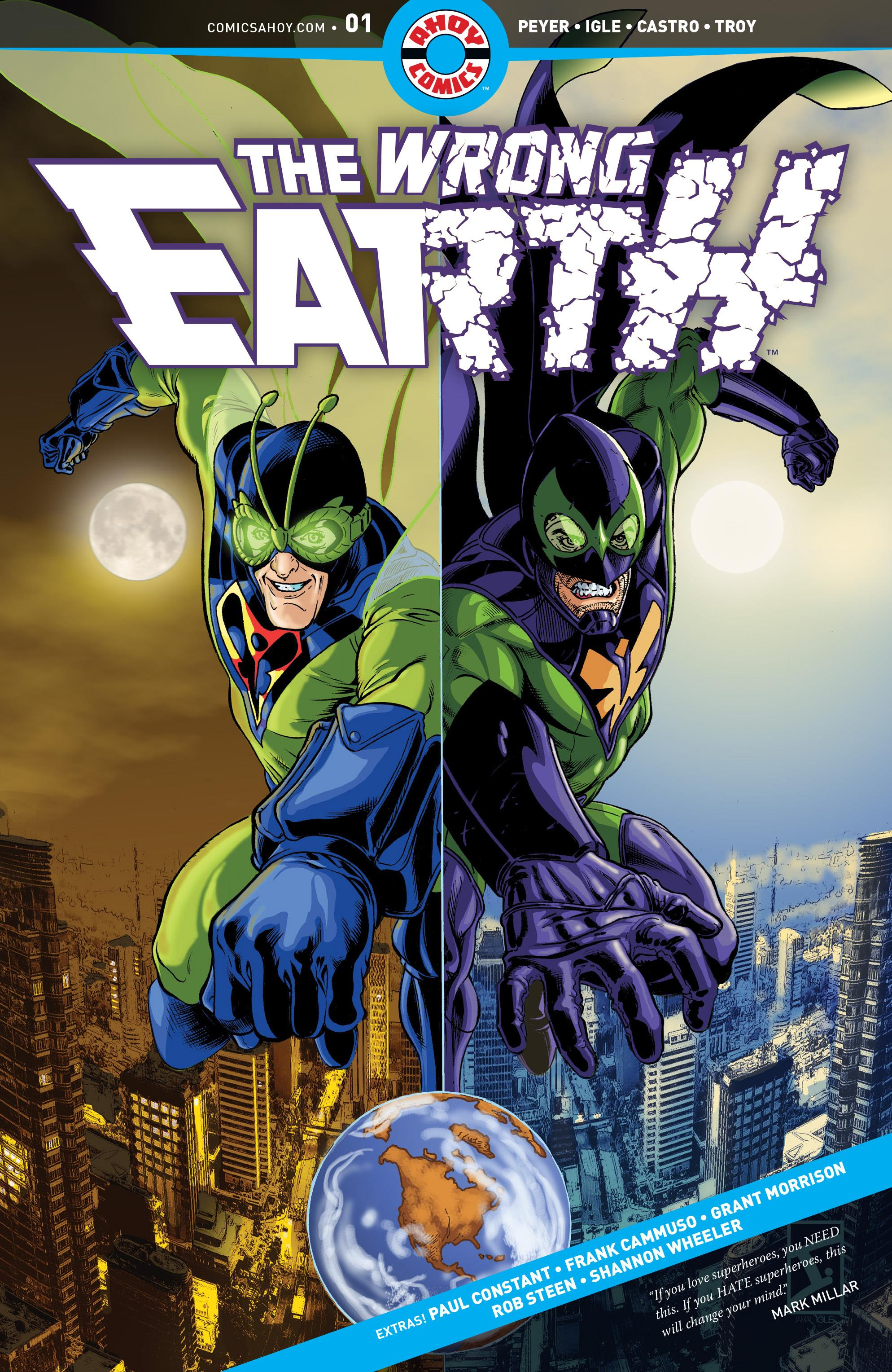 The Wrong Earth Vol 1 1
