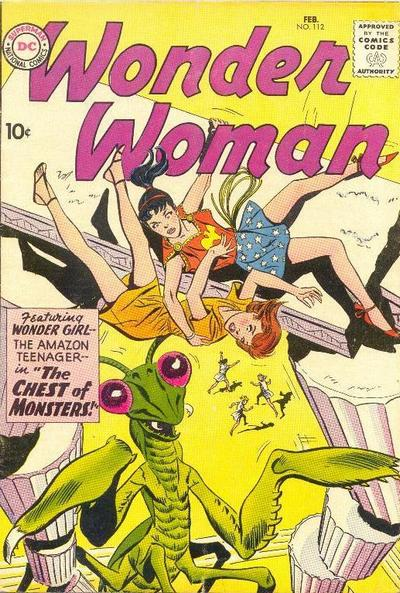 Wonder Woman Vol 1 112