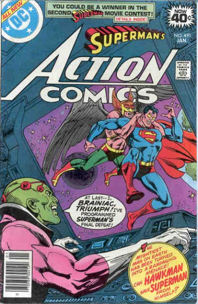 Action Comics Vol 1 491