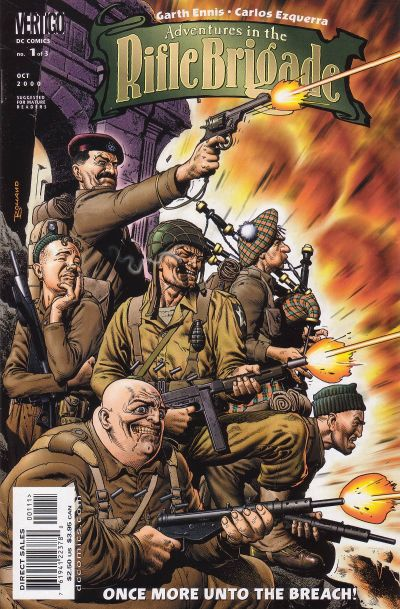 Adventures in the Rifle Brigade/Covers