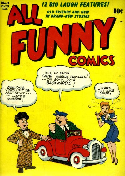 All Funny Comics/Covers