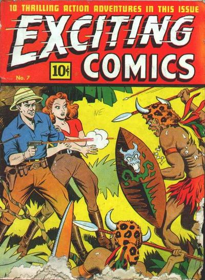 Exciting Comics Vol 1 7