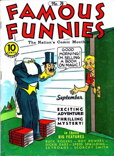 Famous Funnies Vol 1 74