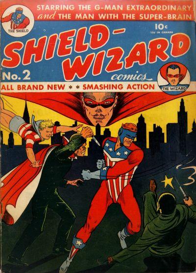 Shield-Wizard Comics Vol 1 2