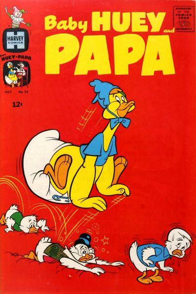 Baby Huey and Papa Vol 1 24