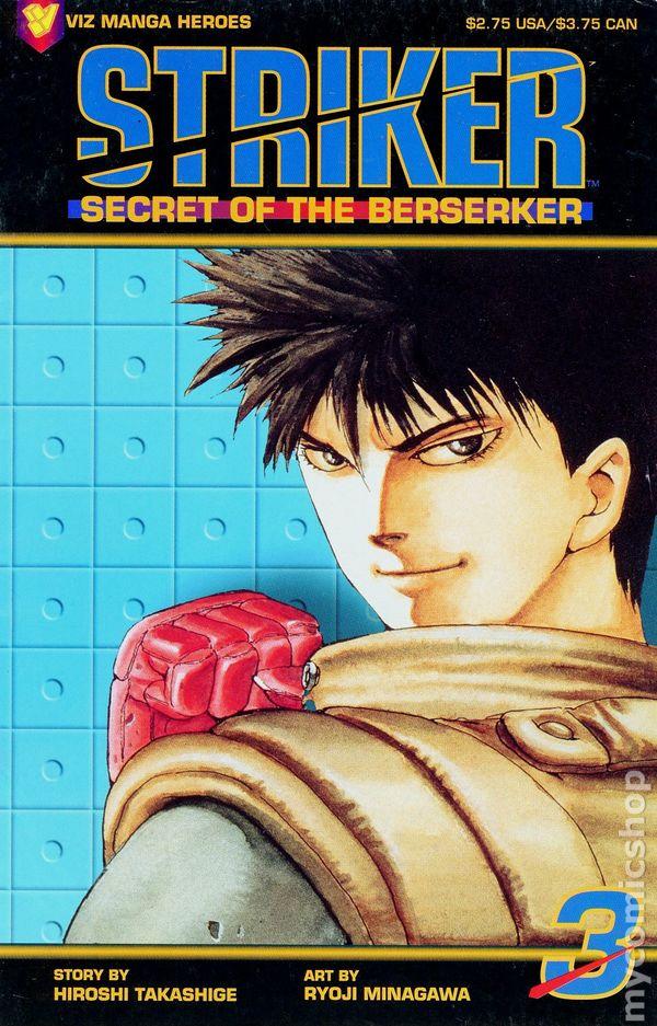 Striker: Secret of the Berserker Vol 1 3