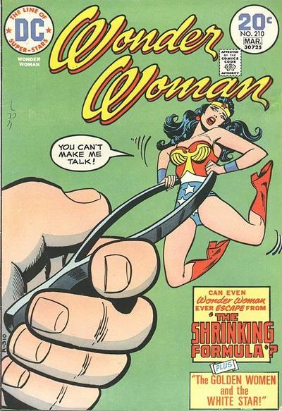 Wonder Woman Vol 1 210