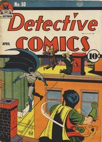 Detective Comics Vol 1 50