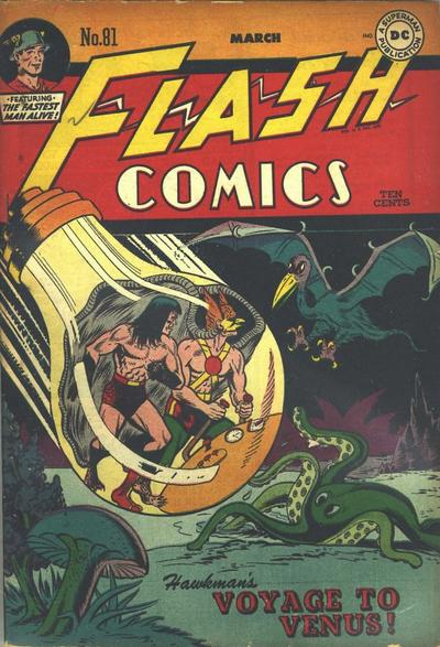Flash Comics Vol 1 81