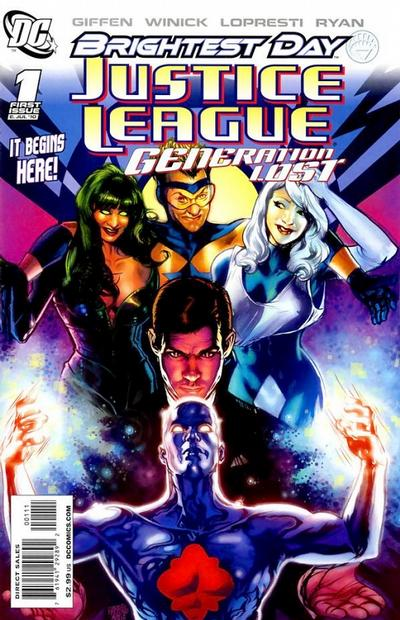 Justice League: Generation Lost Vol 1 1