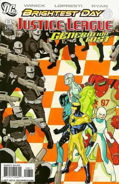 Justice League: Generation Lost Vol 1 8