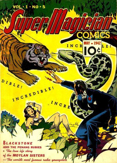 Super-Magician Comics Vol 1 5