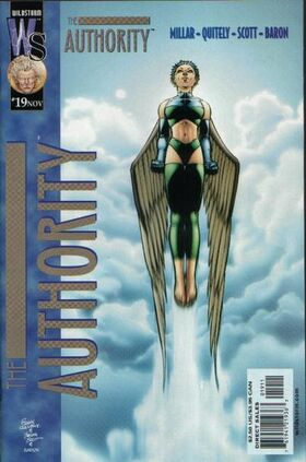 Cover for The Authority #19 (2000)