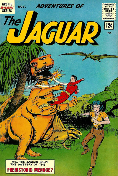 Adventures of the Jaguar Vol 1 10