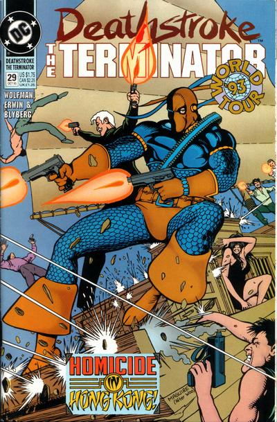 Deathstroke's World Tour