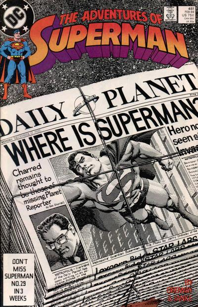 Adventures of Superman Vol 1 451