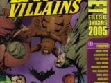 Batman Villains Secret Files and Origins Vol 1 2005