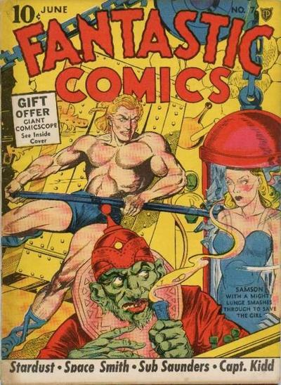 Fantastic Comics Vol 1 7