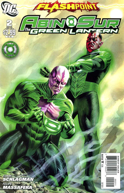 Flashpoint: Abin Sur - The Green Lantern Vol 1 2