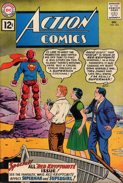 Action Comics Vol 1 283