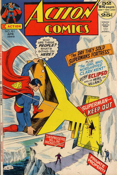 Action Comics Vol 1 411