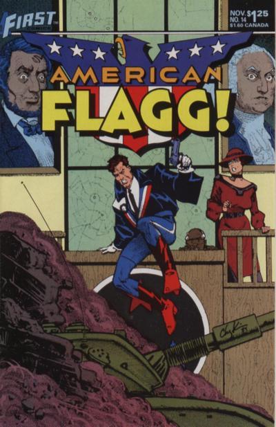 American Flagg Vol 1 14