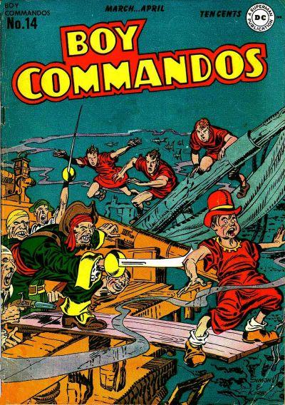 Boy Commandos Vol 1 14