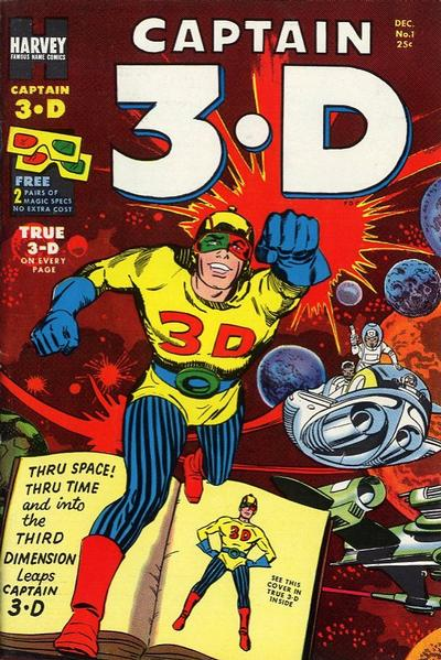 Captain 3-D Vol 1 1