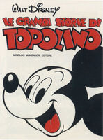 Le grandi storie di Topolino Vol 1 1
