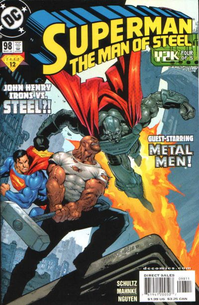 Superman: Man of Steel Vol 1 98