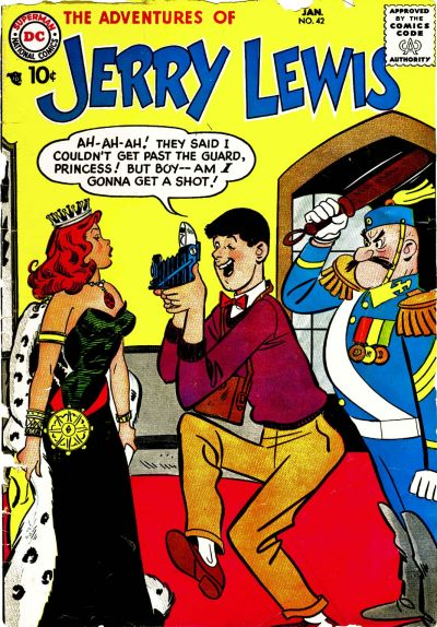 Adventures of Jerry Lewis/Covers
