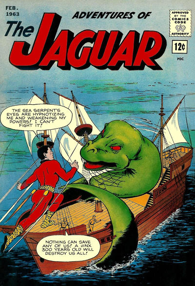 Adventures of the Jaguar Vol 1 11