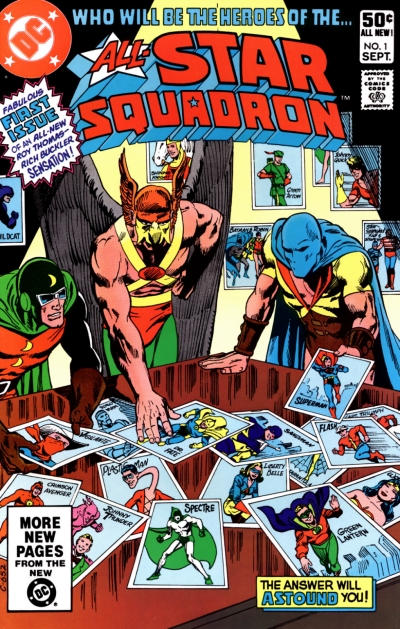 All-Star Squadron/Covers