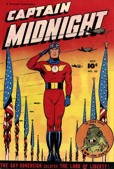 Captain Midnight Vol 1 65