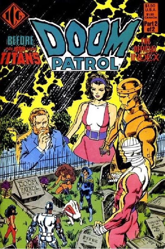 Doom Patrol Index Vol 1 2