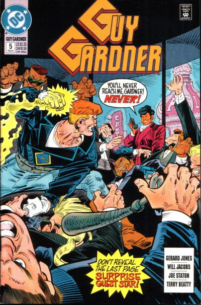 Guy Gardner Vol 1 5