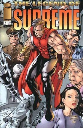 Cover for Legend of Supreme #1 (1994)