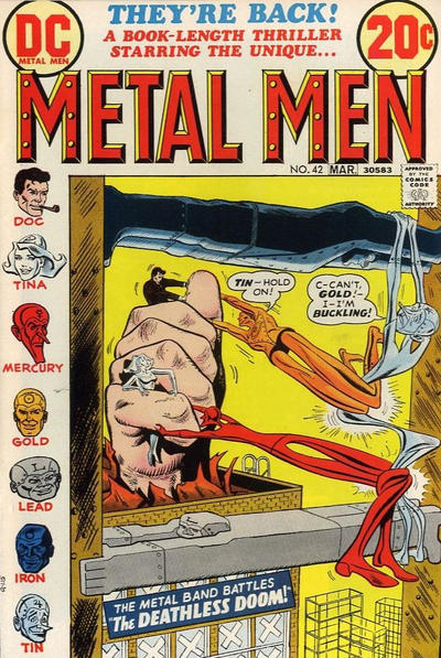 Metal Men Vol 1 42