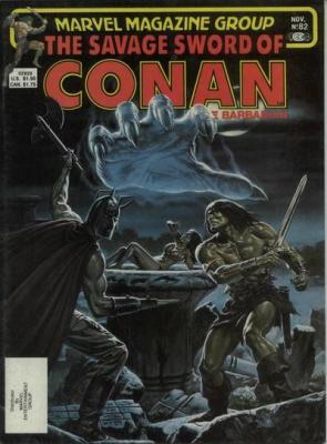 Savage Sword of Conan Vol 1 82
