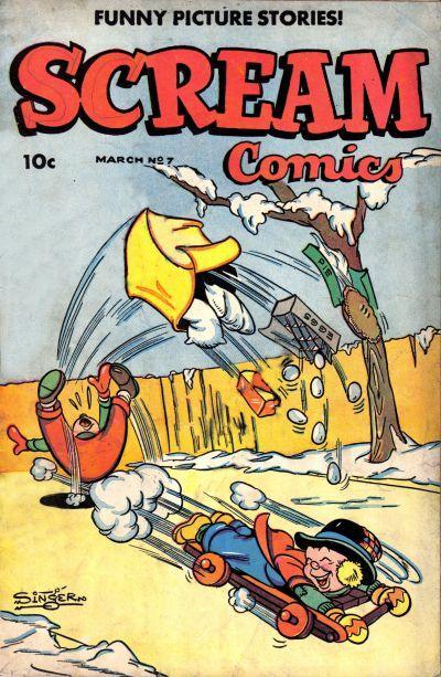Scream Comics (1944) Vol 1 7